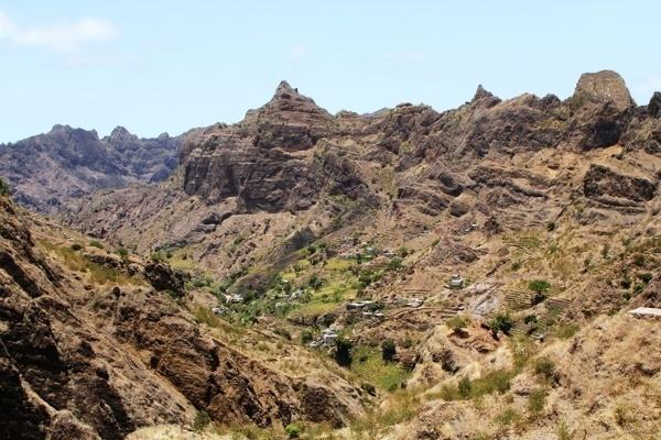 Malowniczy krajobraz Cabo Verde