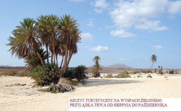 Szczyt turystyczny na Cabo Verde
