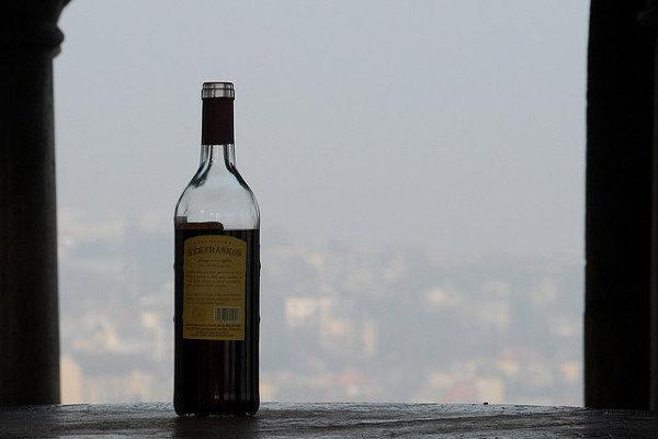 Samotne wino w Budapeszcie
