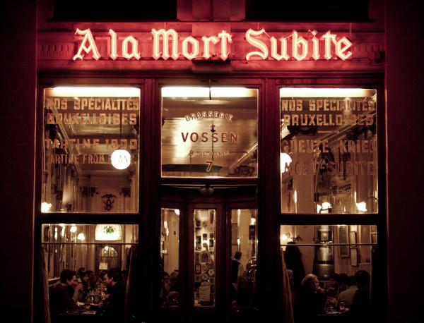 Kultowy pub w Brukseli