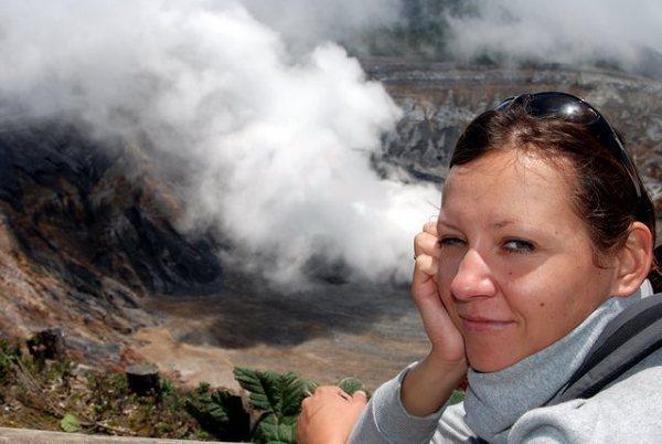 Och jak przyjemnie i leniwie... – widok na wulkan Poas