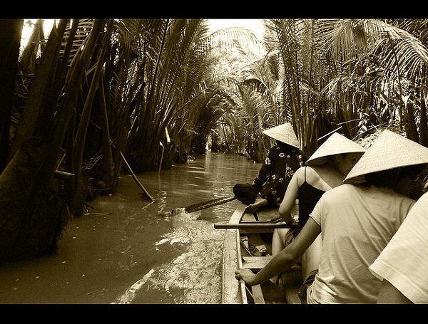 Wietnam, Delta Mekongu