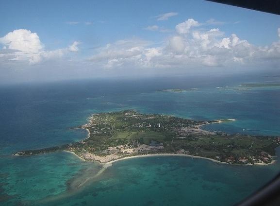 Wyspa z lotu ptaka