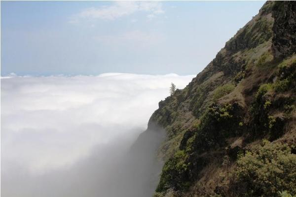 Górzysty krajobraz wyspy Santo Antao
