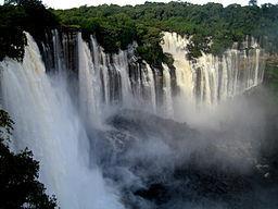 wodospad Kalandula, Angola