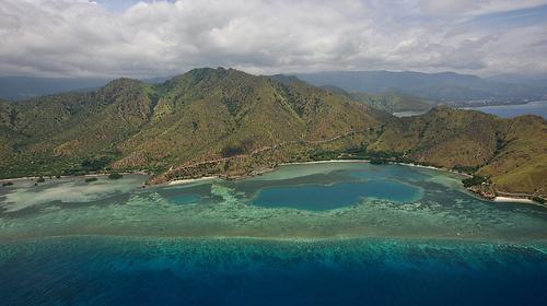 Wschodni Timor z lotu ptaka