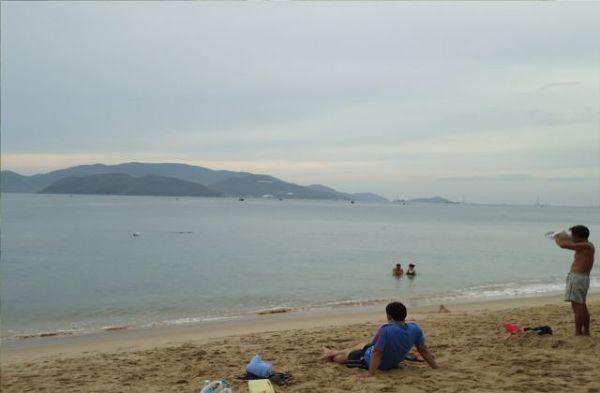 Nha Trang - bez słońca, jednak mimo wszystko gorąco.