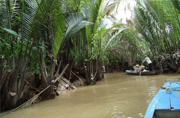 Urokliwe kanały Delty Mekongu