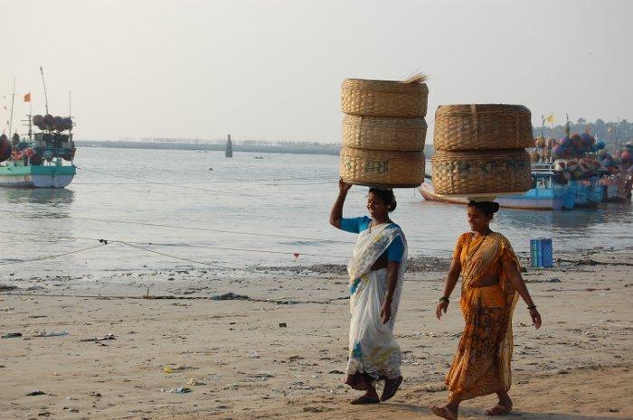 Plaża w okolicach Bombaju