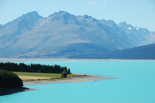 To jednak nie fotoszop :-) Jezioro Pukaki