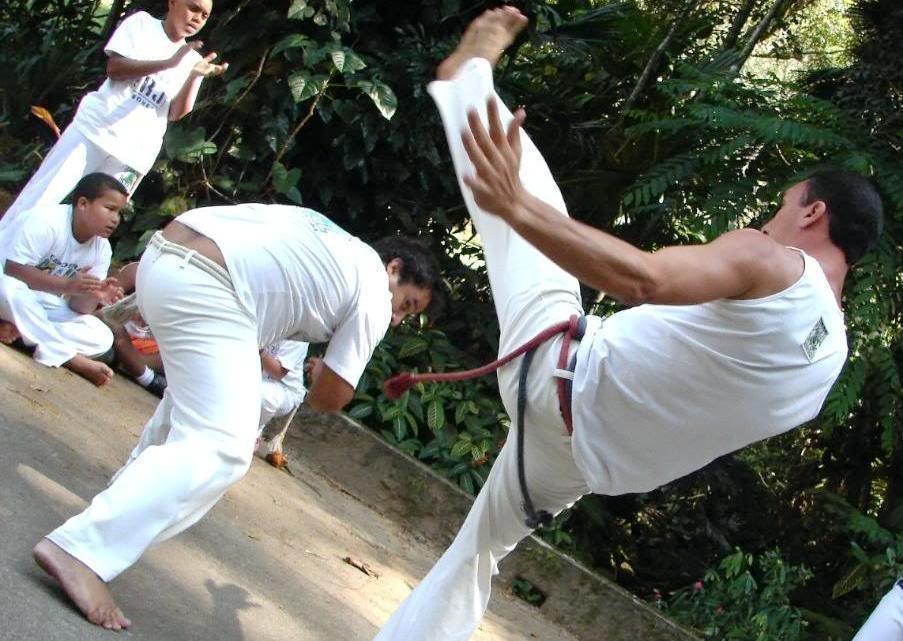 Pokaz capoeiry w Salvadorze