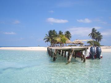 Belize plaża