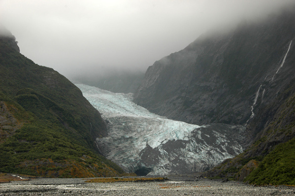Spotkanie z lodowcem Fox Glacier