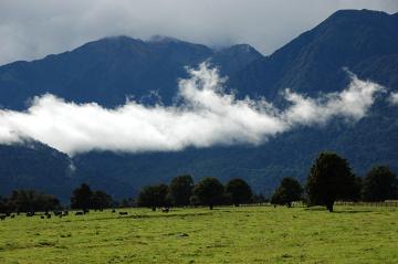 Po burzy w Alpach Południowych