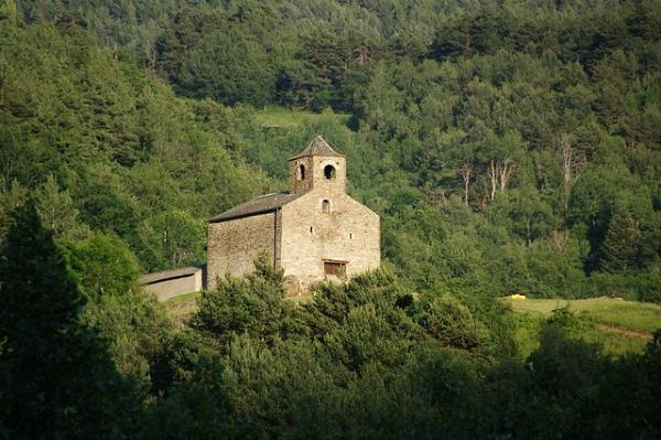 Kościół Sant Cristòfol d'Anyós.