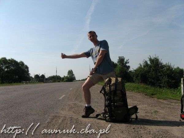 Pierwsze doświadczenia autostopowe, Rumunia