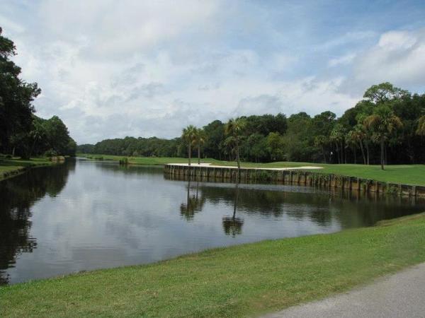 pole golfowe na Hilton Head Island, w Karolinie Południowej