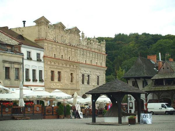 Stary Rynek w Kazimierzu Dolnym