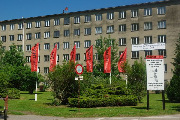 Prora i gigantyczny budynek niegdyś nazistowskiego ośrodka wypoczynkowego