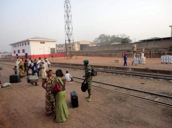 Dwa tory w tę i nazad w mieście Ngaoundéré, które jest stolicąprowincji Adamawa i departamentu Vina. Liczy około 190 tys. mieszkańców. Każdemu wystarcza to co jest inikt tam nie narzeka na koleje państwowe. A nie to co u Nas.
