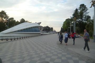 Nowoczesne centrum Batumi.