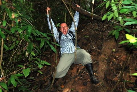 Podczas eksploracji dżungli