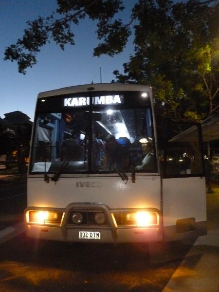 wyjazd autokaru z Cairns