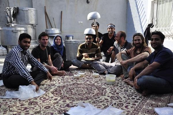 W gościnie u rodziny Irańskiej z okazji święta Aszura.