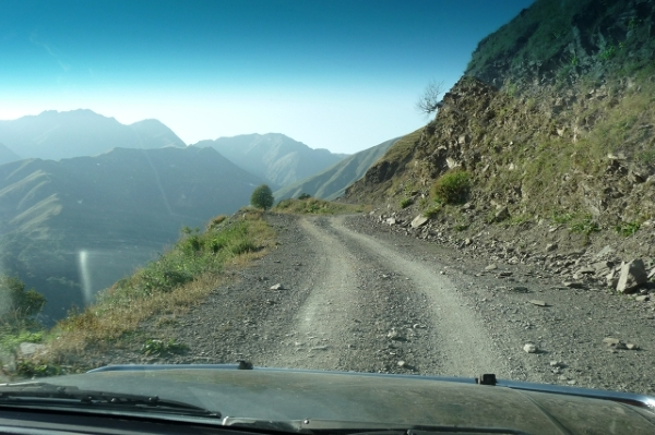 Droga do Omalo