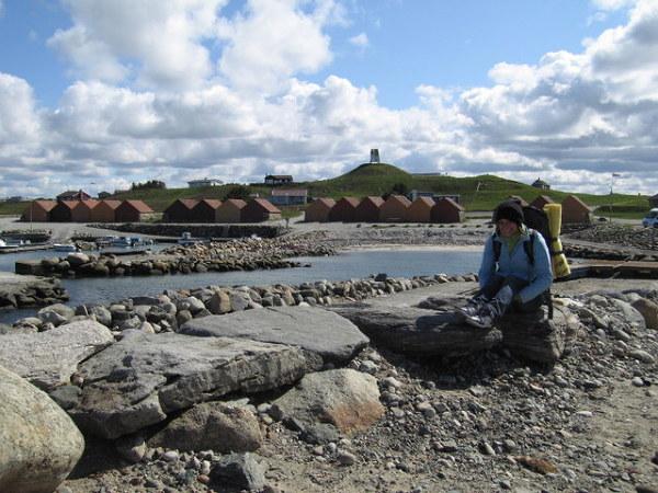 Kamienne domki w Kleppe