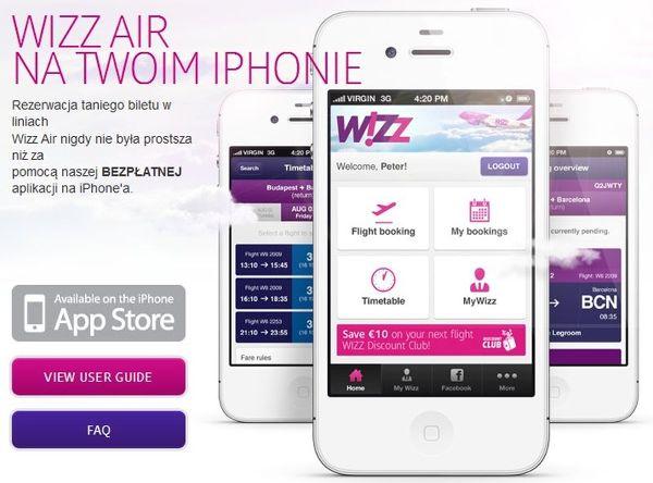 Konkurs z linią Wizz Air!