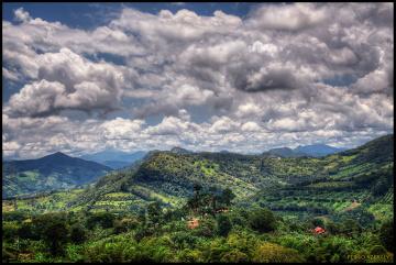 Kolumbia, to przede wszystkim góry pokryte bujną roślinnością.