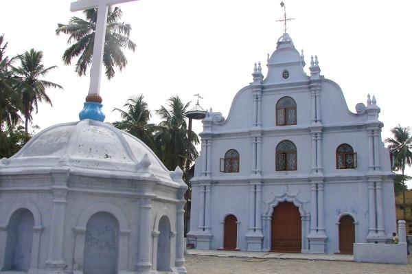Jeden z kościołów w Kochi