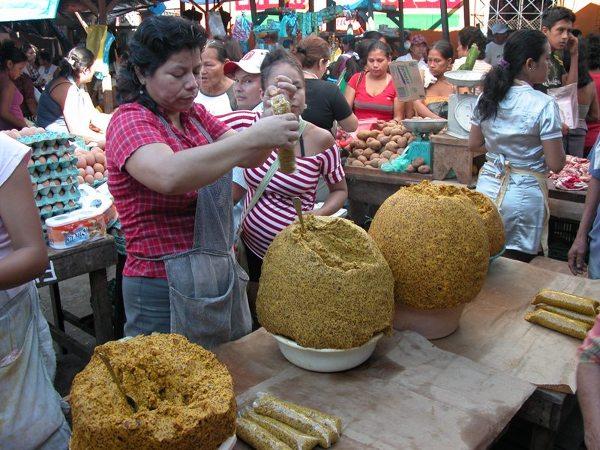Targ w Belén w Iquitos