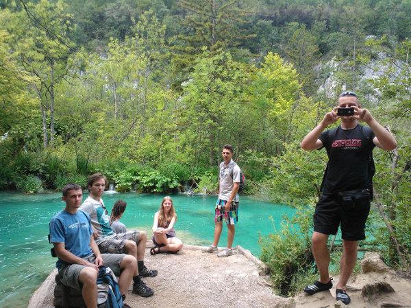 Przystanek w Chorwacji