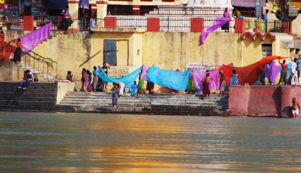 Barwne życie na ghatach