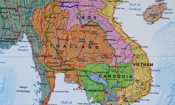 Mapa przebytej trasy