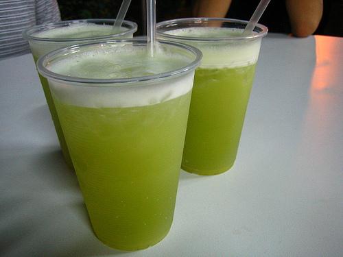 Caldo de cana - sok z trzciny cukrowej