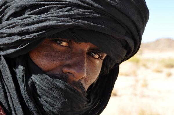 Mieszkaniec algierskiej Sahary