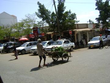 Ulica w Moshi