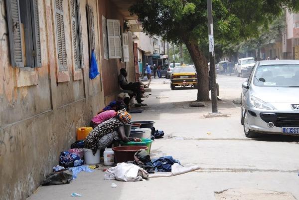 Ulice medyny w Dakarze