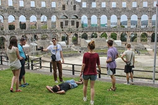 Amfiteatr w Puli, Chorwacja