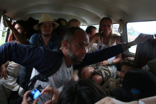 Podróż ogórkiem w Santa Marta