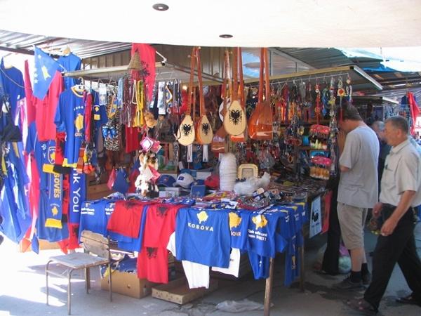 Prisztina - bazar