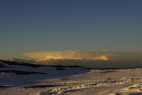 Chmura burzowa w obozie Colera