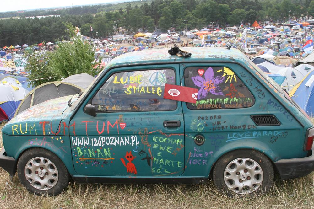 Autostopem na festiwal