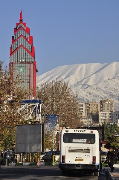 Otaczające Teheran góry są naprawdę na wyciągnięcie ręki