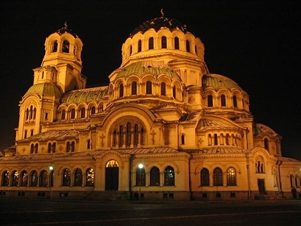 Sofia - cerkiew Aleksandra Newskiego