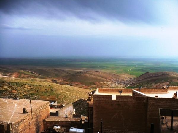 Mardin - widok na Mezopotamię