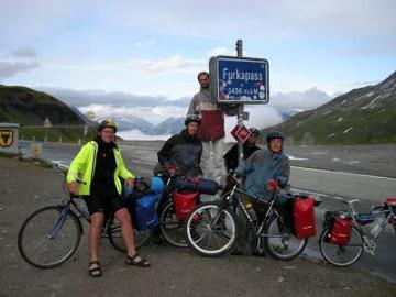Wyprawa rowerowa Szwajcaria 2009, Furkapass